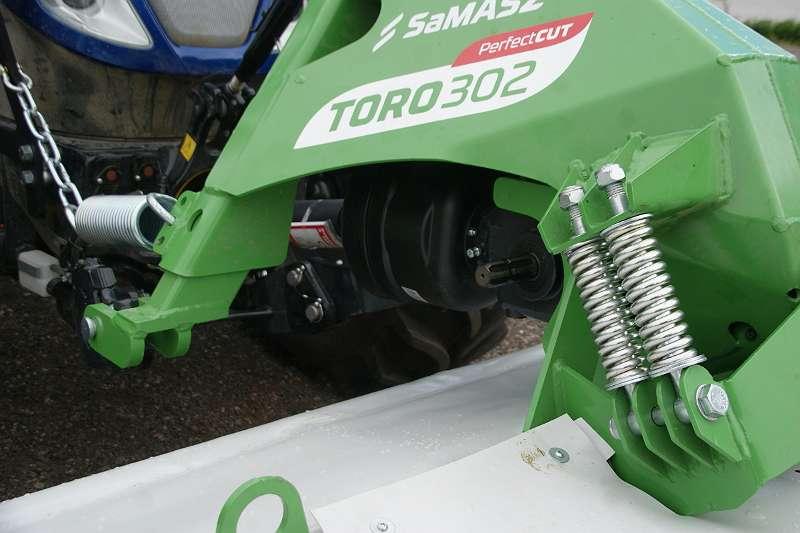Neues Frontscheibenmähwerk SaMASZ Toro 302