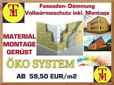 VWS ÖKO SYSTEM ( Mineralisch) Komplettpaket ( Material & Montage) * MEGA AKTION * -20 %