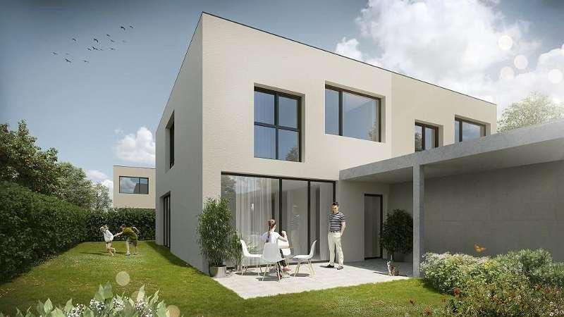 Bild 1 von 7 - Gartenansicht Haustyp 3