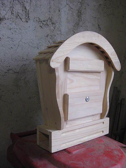 holzbriefkasten briefkasten holz postkasten xxl handarbeit. Black Bedroom Furniture Sets. Home Design Ideas