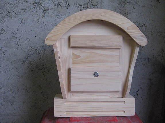 Holzbriefkasten Briefkasten Holz Postkasten Xxl Handarbeit