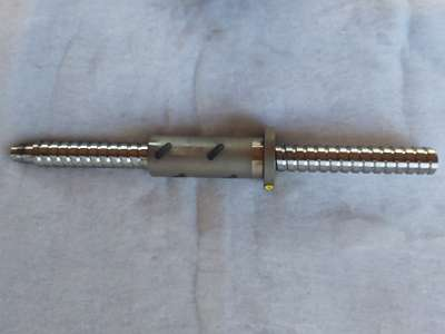 Präzisions Kugelrollenspindel für CNC, D 40mm, Steigung 15mm, Weg 400mm, , neu