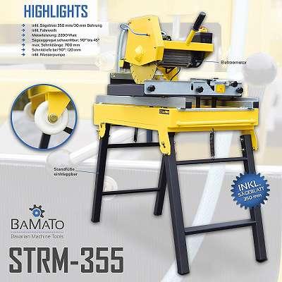 BAMATO Steinsäge STRM-355