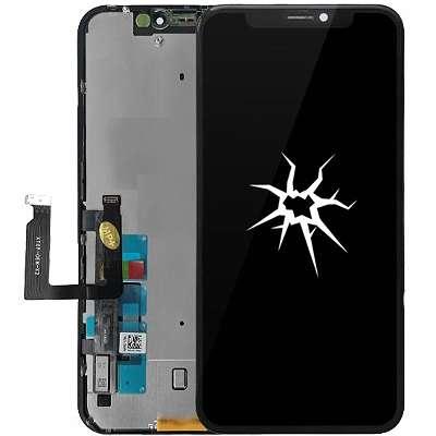 Apple iPhone XR -Display-Akku-Mikrofon-Ladebuchse- Austausch