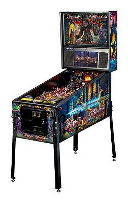 BLACK KNIGHT PRO Sword of Rage STERN Pinball Flipper