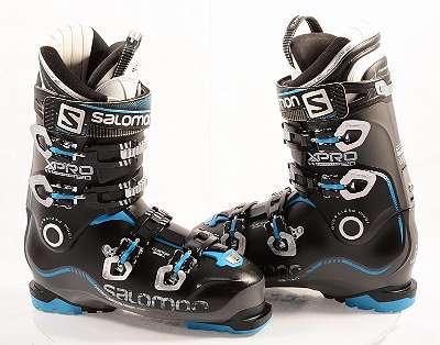EU 40-41 Skischuhe SALOMON X PRO 120 BLUE/ black, MY CUSTOM FIT 3D