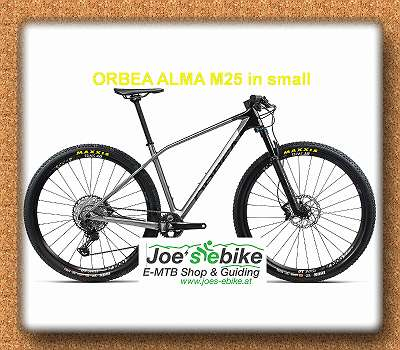 ORBEA ALMA M25 Mod. 2021 in small Carbonhardtail