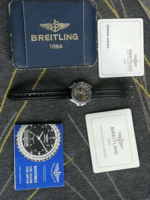 Breitling Navitimer 3100 Full Set