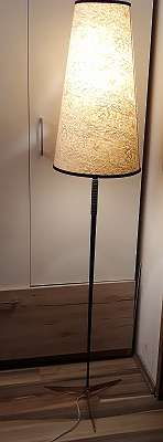 Mid Century Kalmar/ Nikoll Stehlampe