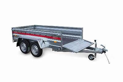 Pkw Anhänger, Tieflader Prakti 2312/2 750 kg