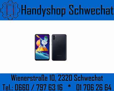 SAMSUNG GALAXY M11 64GB / NEU / WERKSOFFEN / BLACK / MIT VOLLER HERSTELLERGARANTIE / HANDYSHOP SCHWECHAT WIENERSTRASSE 10 2320 SCHWECHAT