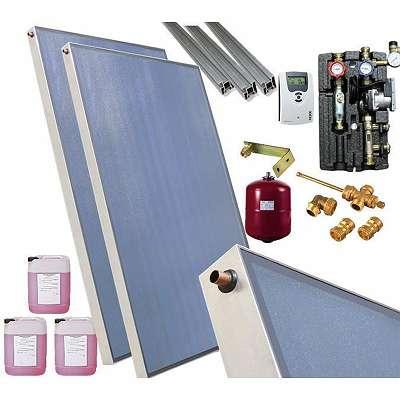 Solarpaket/ Solaranlage Sunex AMX 7,59m² 3 Kollektoren