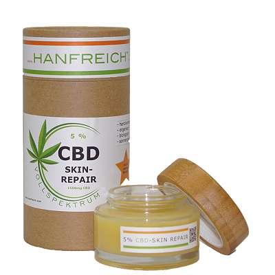 5% CBD Vollspektrum Skin-Repair 1500 mg