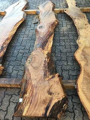 Eiche Schnittholz Eichenholz Bohlen Diele Tischplatte Nr. 34