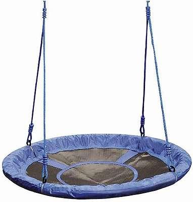 Nestschaukel Schaukel Tellerschaukel mit Seil 110 cm bis 2 Kinder