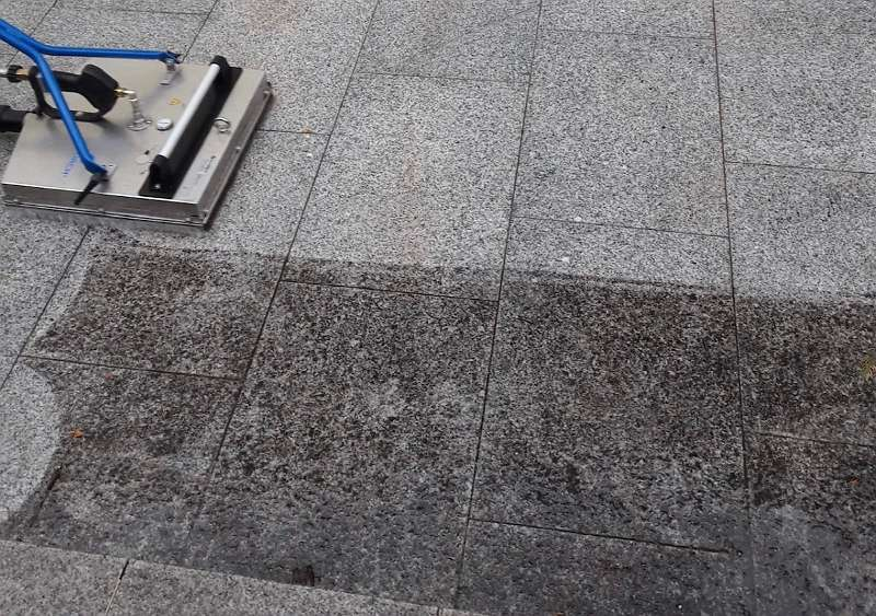 FRÜHLINGSAKTION ! Steinreinigen - Steinreinigung, Pflasterreinigung, Terrassenreinigung, Pflastersteine reinigen, Moos entfernen, Terrassenplatten reinigen, Grünbelag entfernen, Waschbetonplatten reinigen, Pflaster reinigen, Betonpflaster reinigen