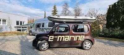 Takacat 340 LS Schlauchboot Kanu ideal mit Torqeedo Travel