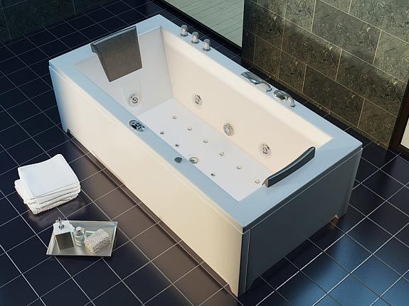 luxus whirlpool badewanne 182x90 + vollausstattung ! (jacuzzi, Hause ideen