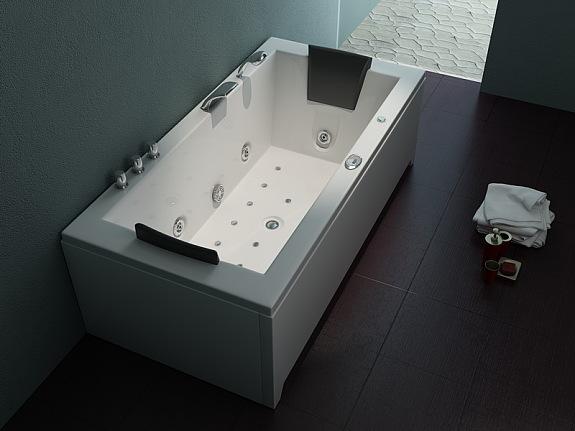 Berühmt Luxus Whirlpool Indoor Badewanne 182x90 + Vollausstattung KM01