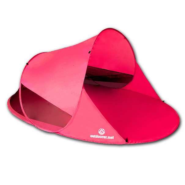 Pop up Strandmuschel Zack II in pink