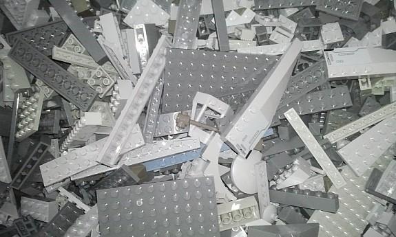 1 kg lego graue teile lego kiloware steine platten sonderteile 29 90 4651 stadl. Black Bedroom Furniture Sets. Home Design Ideas
