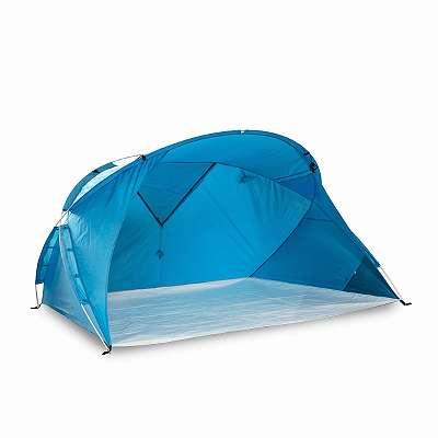 Strandmuschel mit UV-Schutz 80 outdoorer Svalin 3 in 1 Strandzelt Zelt und Moskitonetz