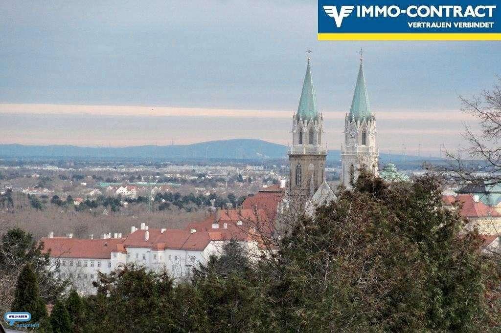 Bild 1 von 4 - Blick auf Klosterneuburg