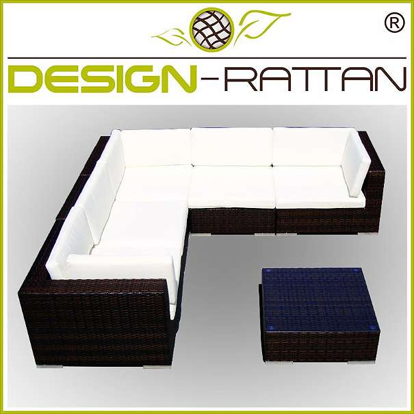 Gartenmöbel Set CAPETOWN  255 x 255 oder 330 x 180 cm links
