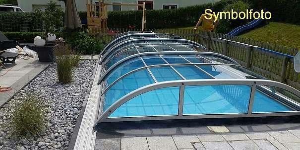 Pool Mit Dach poolüberdachung / schwimmbadüberdachung / pool dach, € 5.990,- (4614