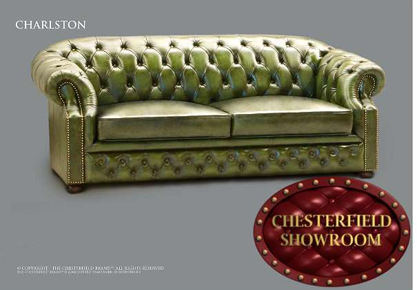 chesterfield showroom charlston 3 sitzer 4210. Black Bedroom Furniture Sets. Home Design Ideas