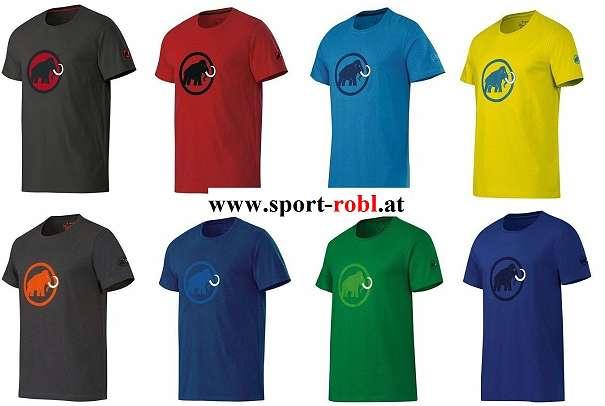 MAMMUT LOGO Shirt Men Farbe und Größe wählbar NEUWARE - Mautern in Steiermark - Mammut Logo-Shirt T-Shirt Originalverpackt mit Etikett! Original-MAMMUT-WARE Das berühmte Mammut Logo T-Shirt, jetzt neu in bioRe® Biobaumwolle. bioRe® steht für: 1. Biologisch: Produziert nach biologischen Richtlinien; 2. Qual - Mautern in Steiermark