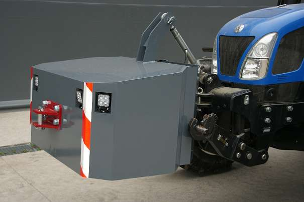 Metallgewicht 400-1200 kg-Fendt-Steyr-John Deere-New Holland-Deutz-
