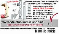 Edelstahlinnenrohr 0,6mm, Außenmantel 0,6mm, 32,5mm Isolierung