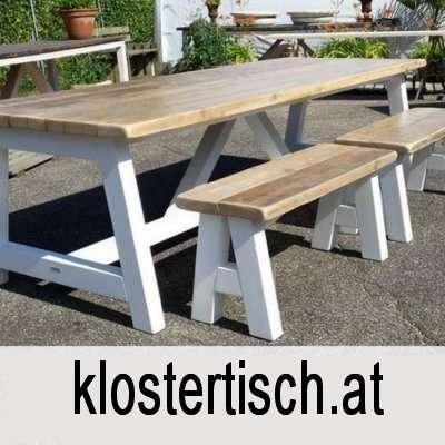 Klostertisch Klostertische Bauerntisch Wirtschaftstisch Esstisch Wohnzimmertisch Aussentisch Holztisch Tische Esszimmertisch Lange Weisse