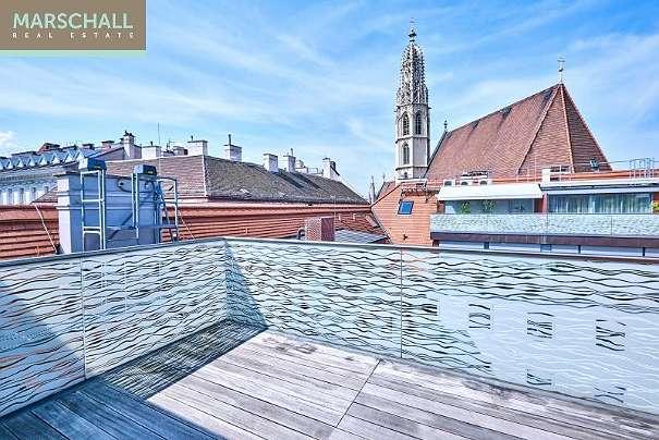 Moderne Dachterrassenwohnung In Wiener Toplage Mit Hauseigener ... Moderne Dachterrasse Unterhaltungsmoglichkeiten