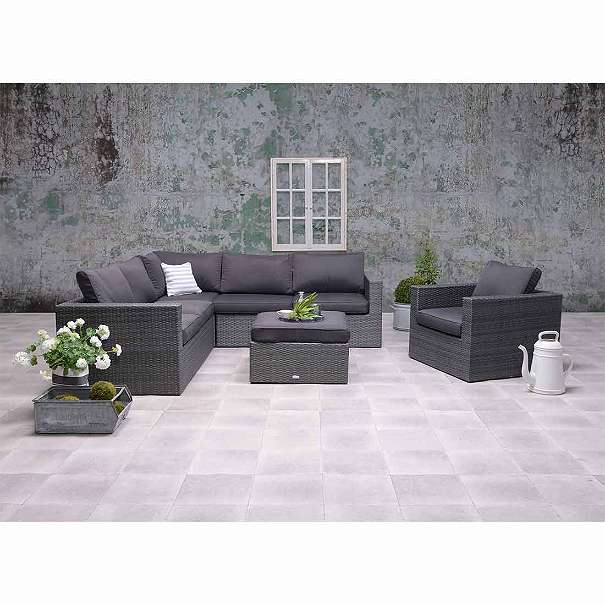 garden impressions cayman ii lounge set 4 teilig earl grey 8 4mm d anthrazit poly rattan. Black Bedroom Furniture Sets. Home Design Ideas
