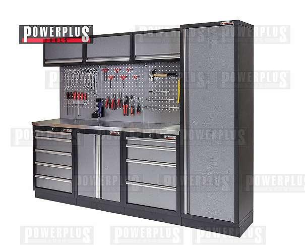 Komplette Werkstatteinrichtung - Werkstatt Set mit ...