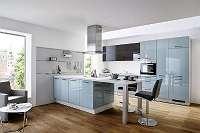 Schnäppchenangebot: Fabriksneue Küche mit Kochinsel inkl. aller Elektrogeräte und Spüle