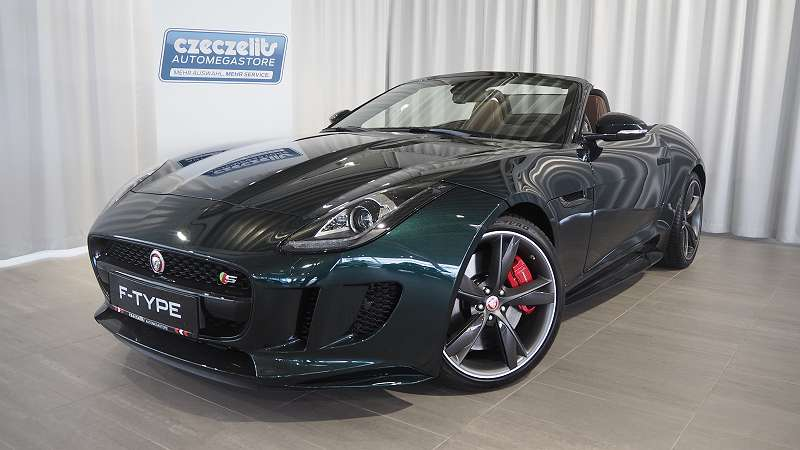 jaguar f type 3 0 v6 kompressor s cabrio np. Black Bedroom Furniture Sets. Home Design Ideas