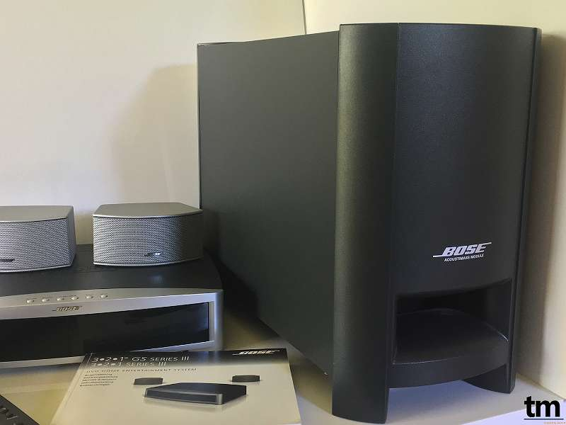 bose 3 2 1 iii gs acoustimass system hdmi dvd cd. Black Bedroom Furniture Sets. Home Design Ideas