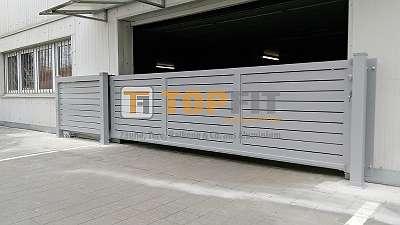 Aluminium Toranlage, Modell SATURN