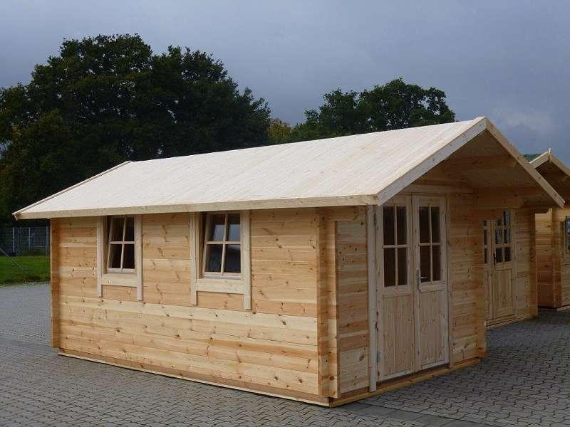 Gartenhaus Blockhaus 3 0x5 0m Mit Boden Inkl Anlieferung Und