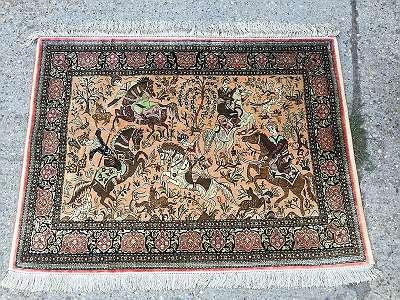 Persischer Wandteppich Seide