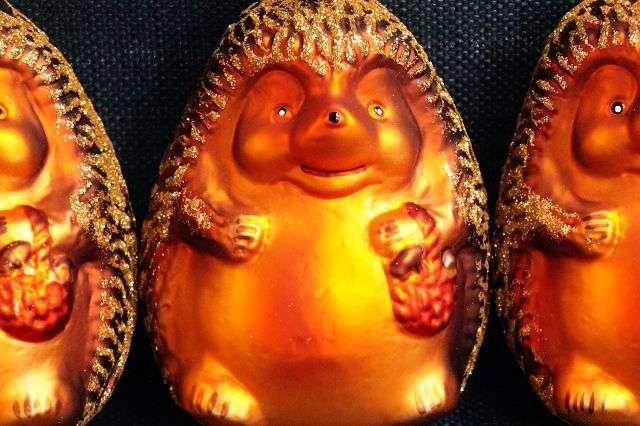 Ausverkauft Original Mundgeblasener Handbemalter Lauscha