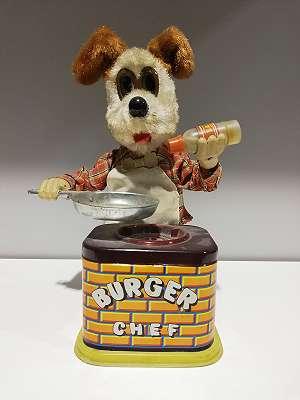 Burgerhund mit Herd