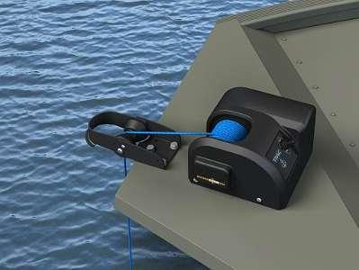 NEU TRAC Anker Zone20 elektrische Ankerwinde Anker Winde für Angelboot Ruderboot Motorboot Segelboot Fischerboot Aluboot Aluminiumboot Trac Fisherman Fischer