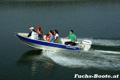 450 U 450U Marine Aluboot Aluminiumboot Aluminium Boot Angelboot Fischerboot Ruderboot Motorboot Einsatzboot Wallerboot Rettungsboot Feuerwehrboot Hochwasserboot Fuchs-Boote
