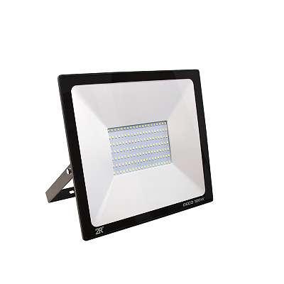 100W LED Fluter SMD TOSHIBA LEDs 3 JAHRE GARANTIE IP65 Schwarz
