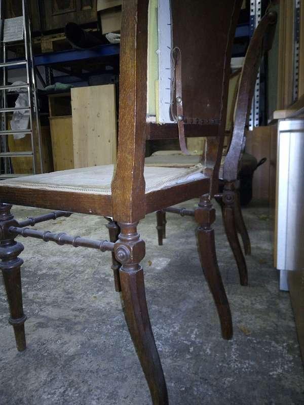 Altdeutsche Sessel, Stühle, Stuhl, Set, ahrer weyer