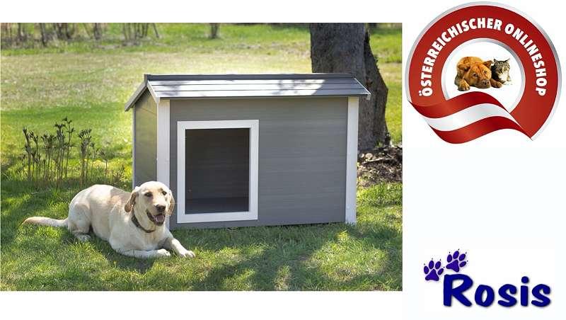 Hundehütte, Hundehaus, rezykliertes Material ECOFLEX, WÄRME-ISOLIERT NEU (Versandkostenfrei)